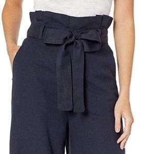 NWT Limited Paperbag Wide-Leg Cropped Pant 8P